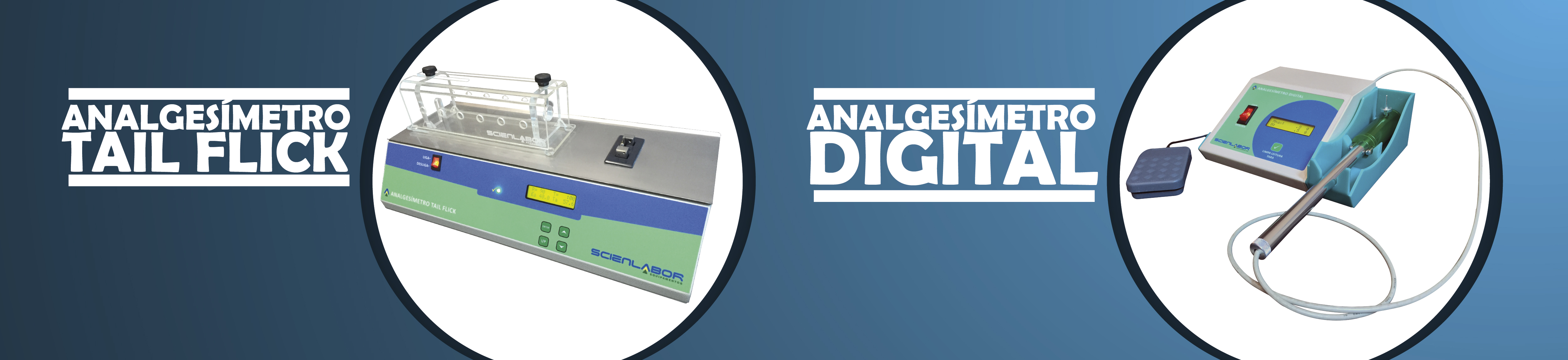 Analgesímetro Tail Flick e Digital